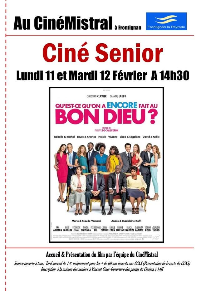 CINÉ SENIOR FÉVRIER 2019