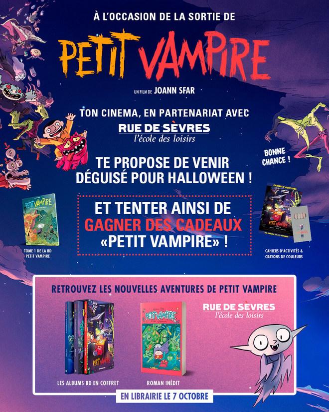 Ciné Déguisé PETIT VAMPIRE