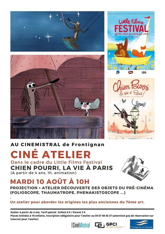 Ciné Atelier - CHIEN POURRI LA VIE A PARIS