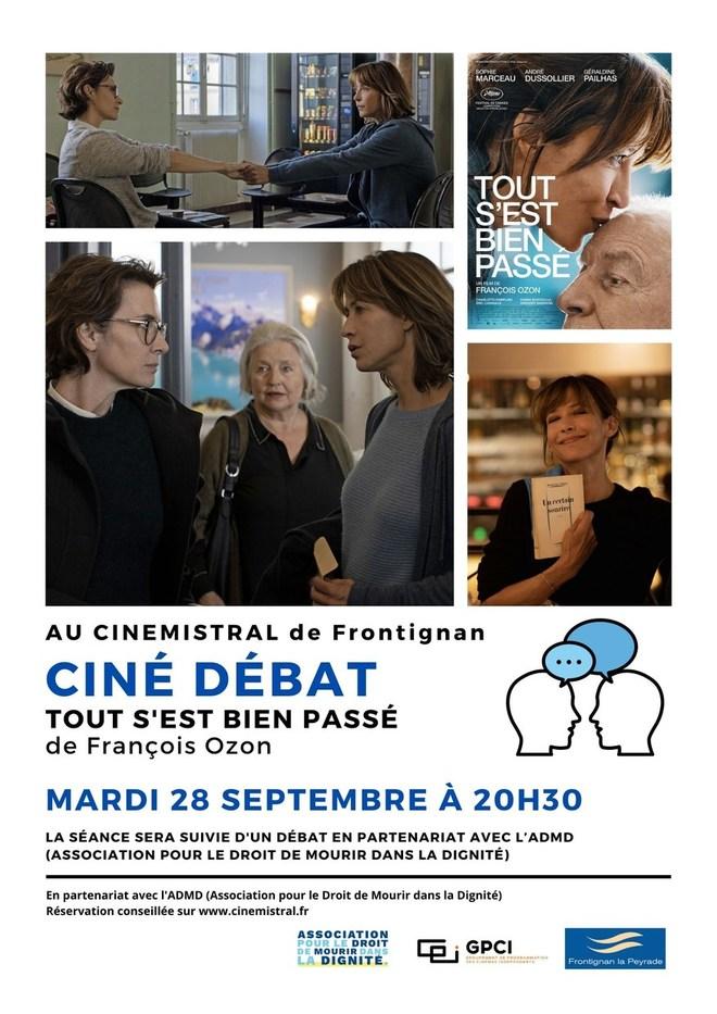 Ciné Débat- TOUT S'EST BIEN PASSE