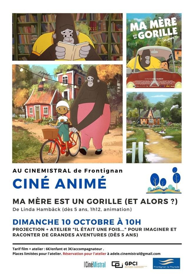 Ciné Animé - MA MERE EST UN GORILLE (ET ALORS?)