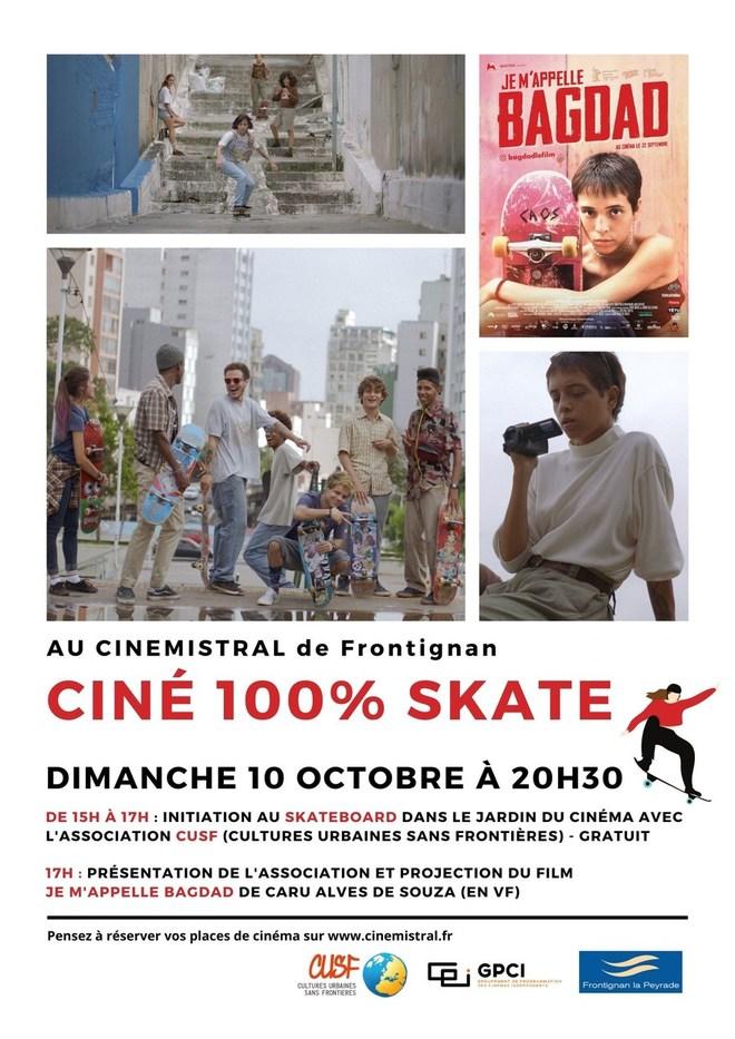 Ciné 100% Skate - JE M'APPELLE BAGDAD