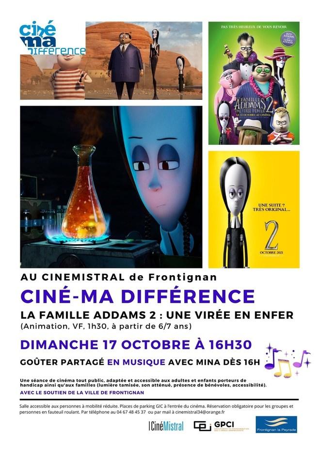 Ciné Ma-Différence - Octobre 2021