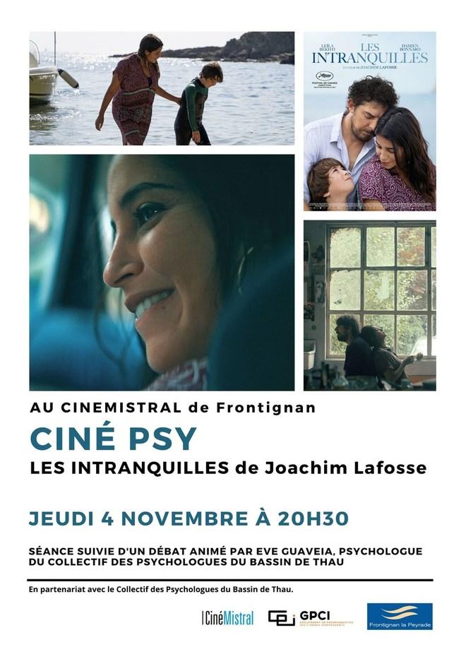 Ciné Psy - Les Intranquilles