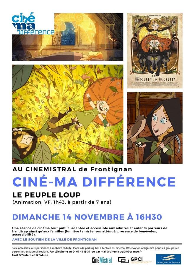 Ciné-Ma différence - LE PEUPLE LOUP