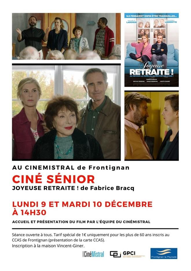 Ciné Senior - Décembre 2019
