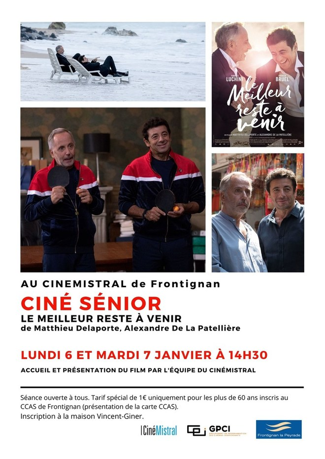 Ciné Senior - Janvier 2020