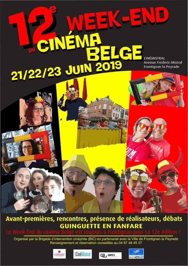 12ème édition du WEEK-END DU CINEMA BELGE