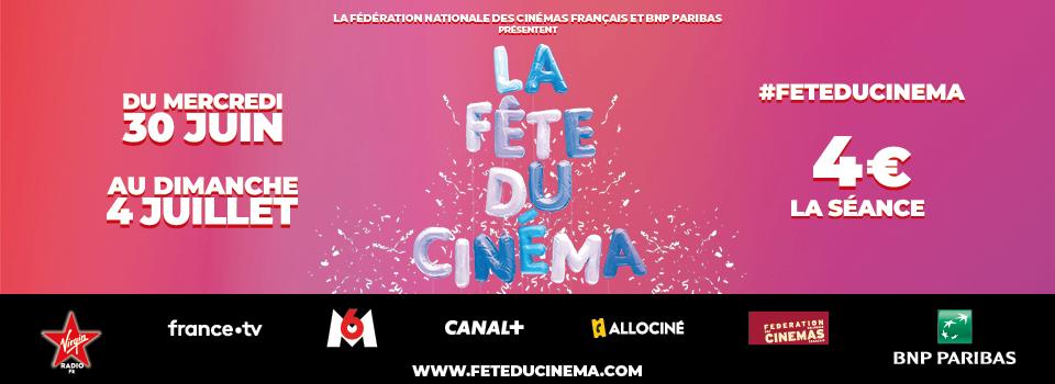 Prochainement : La Fête du Cinéma